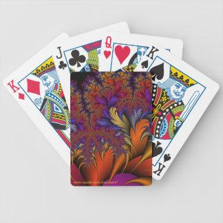 Påfågelmalm Spelkort
