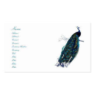 Påfågelsamlingen Visitkort