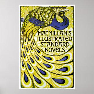 Påfågelupplaga, MacMillans Illustraded Poster