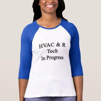Pågående Tech för HVAC R Tee Shirt
