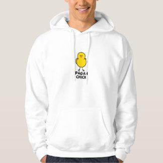 Pagan chick tröja med luva