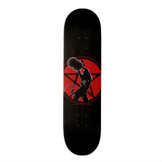 Pagan hejaklacksledare old school skateboard bräda 21,6 cm