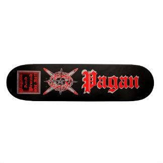Pagan och stolt av det!! old school skateboard bräda 18 cm
