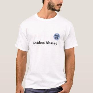 pagan och stolt, välsignad gudinna tshirts