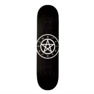 Pagan skridsko skateboard bräda 20,5 cm