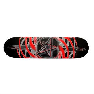 Pagan stjärnaSkateboard Old School Skateboard Bräda 18 Cm