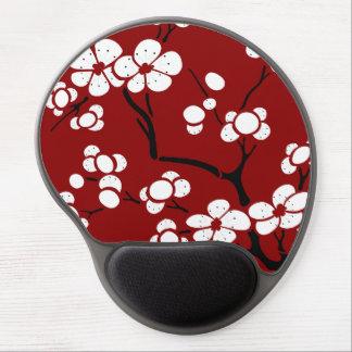 PagodastilGel Mousepad på rött Gelé Musmatta