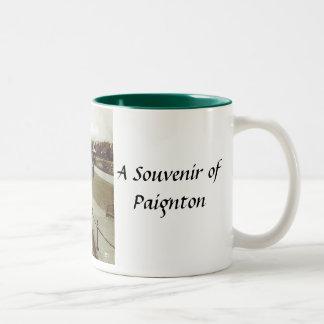 Paignton souvenirmugg Två-Tonad mugg