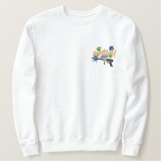 PaintBall Broderad Sweatshirt