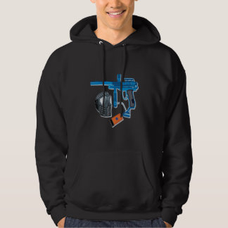 Paintball utrustar hoodie