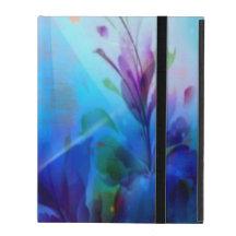 Painterly blom- iPad Powiscase för solnedgång iPad Fodral