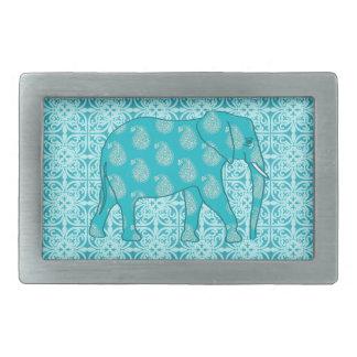 Paisley elefant - turkos och aqua