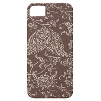 Paisley för vintage brun Fodral-Kompis iPhone 5 iPhone 5 Case-Mate Cases