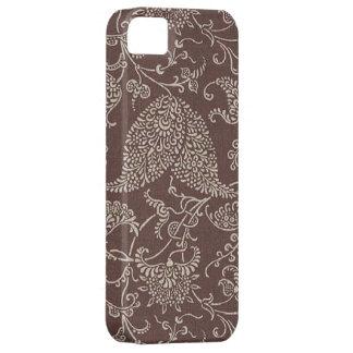 Paisley för vintage brun Fodral-Kompis iPhone 5 iPhone 5 Case-Mate Fodraler