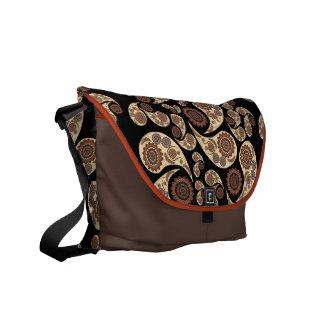 Paisley mönster kurir väskor