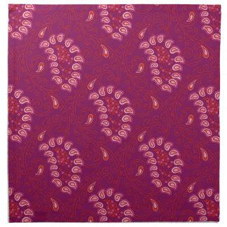 Paisley mönster tygservett