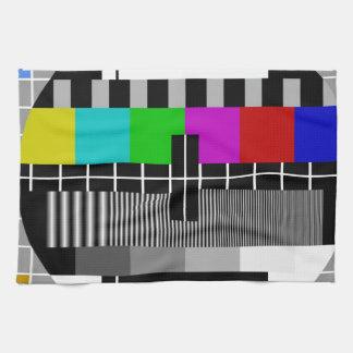 Pal-TV:N testar signalerar Kökshandduk