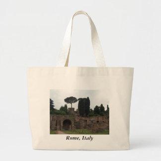 Palatine backe i Rome, italien Jumbo Tygkasse
