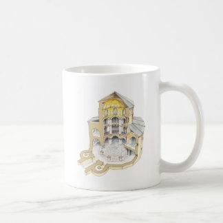 Palatine kapell. Aachen. Tyskland Kaffemugg