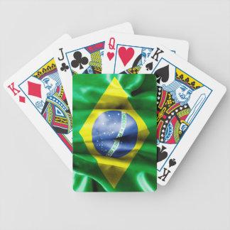 Palaying för Brasilien flaggacykel kort Spelkort