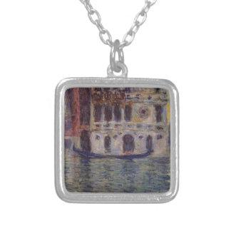 Palazzo Dario 3 vid Claude Monet Silverpläterat Halsband
