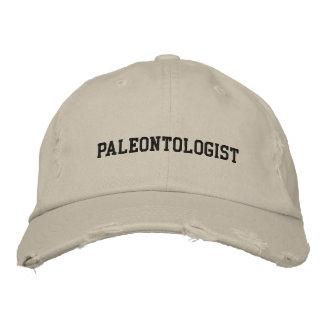 Paleontologist broderad hatt