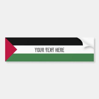 Palestina flagga bildekal