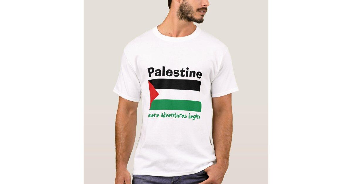 Redigerbar Karta Sverige.Palestina Flagga Karta Textt Troja T Shirt Zazzle Se