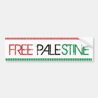 Palestina frigör bildekal