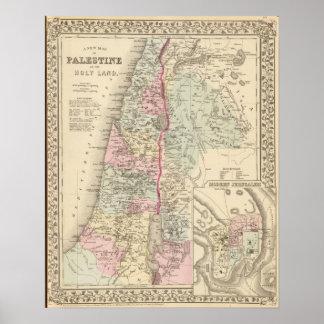 Palestina Jerusalem Poster