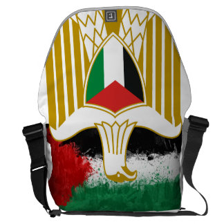Palestina land hänger lös kurir väskor