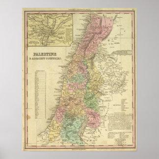 Palestina & närgränsande länder poster
