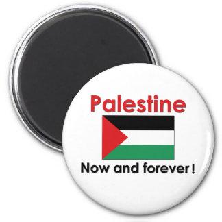 Palestina nu och för evigt magnet rund 5.7 cm