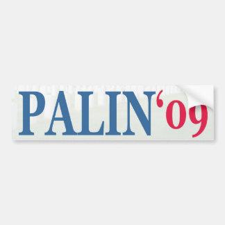 Palin '09 bildekal