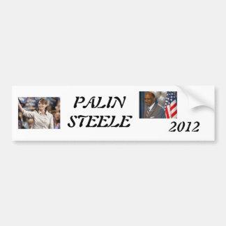 palin 2012, steele 1, 2012, PALINSTEELE Bildekal