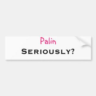 Palin… allvarligt? bildekal