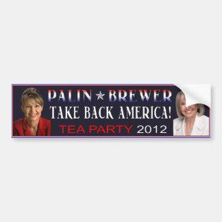 Palin bryggarebildekal 2012 bildekal