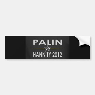 Palin/Hannity2012 Bildekal