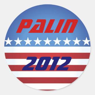 Palin klistermärke 2012
