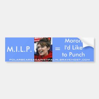 Palin M.I.L.P bildekal