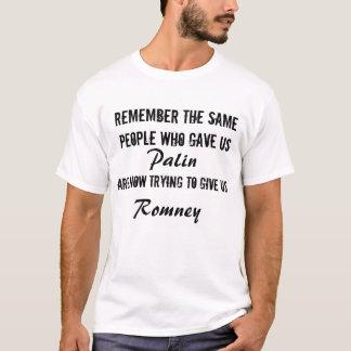 Palin=Romney Tee Shirt