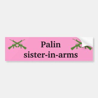 Palin syster-i-ärmar bildekal