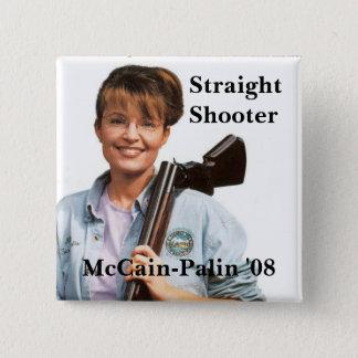 Palingun McCain-Palin '08, skytt, raksträcka Standard Kanpp Fyrkantig 5.1 Cm