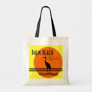 Palm Beach Florida-Strand souvenir Tygkasse