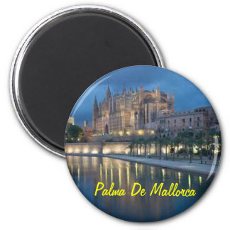 Palma de Mallorca Spanien magnet Magnet Rund 5.7 Cm