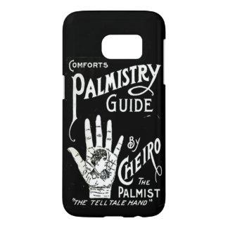 Palmistry vägleder vintage bild galaxy s5 skal