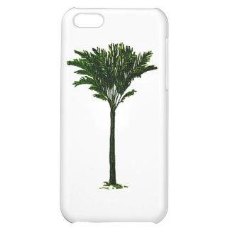 Palmträd 2 de MUSEUMZazzle gåvorna iPhone 5C Mobil Skydd