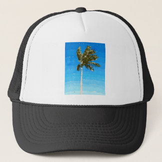 Palmträd i vind keps