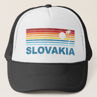 Palmträd Slovakien Truckerkeps
