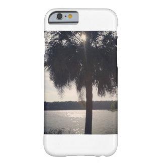 Palmträd vid sjötelefonfodral barely there iPhone 6 fodral